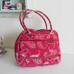 Vera Bradley Mesa Red Bandana Paisley Quilted Bag